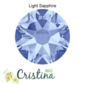 Стразы Light Sapphire 12