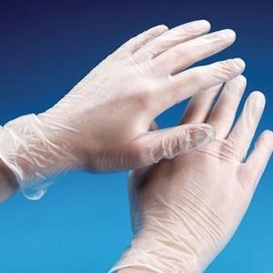 Перчатки Виниловые (Белые)