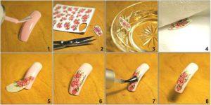 Мк слайдер дизайном для ногтей