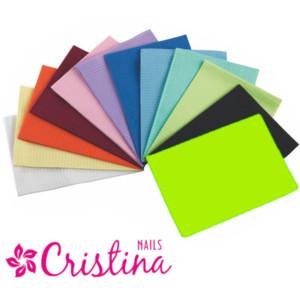 Салфетки одноразовые для маникюра цвет лайм