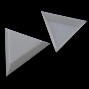 Контейнер Треугольный Белый Для Страз.
