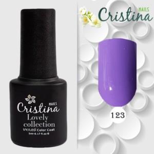 Гель Лак Loveli Cristinanails (5 Мл) 123