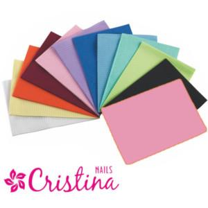 Салфетки одноразовые для маникюра цвет розовый