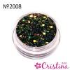 конффети дизайн для ногтей 2008