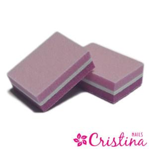 шлифовальный мини бафик розовый