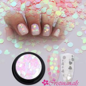 камифубуки звездочка дизайн для ногтей