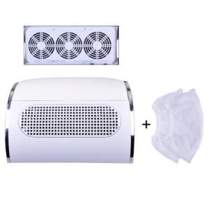 пылесос маикюрный на три вентилятора