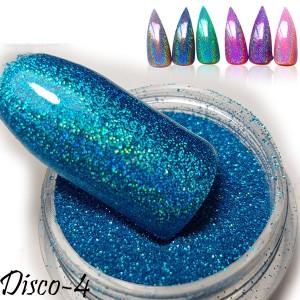втирка дизайн для ногтей диско 4