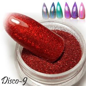 втирка дизайн для ногтей диско 9
