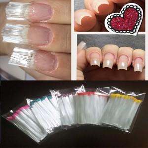 стекловолокно ткань для ногтей 10 шт