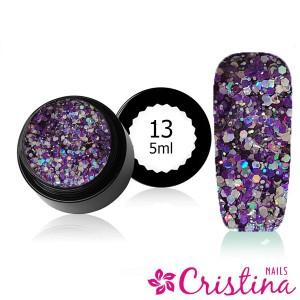 Crush diamond gel 13