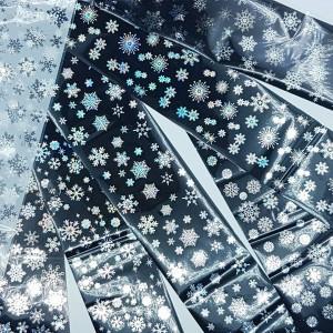 Набор фольги снежинки 7шт